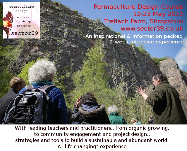 Permaculture is the study of natural systems and the application of that insight as a design system