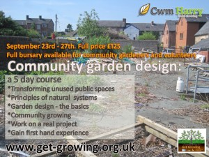 Community Garden design course 2013