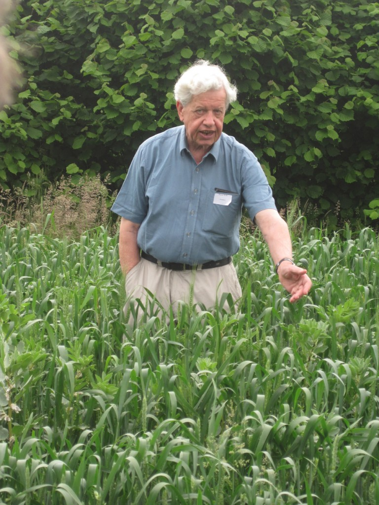 Martin Woolfe, outstanding in his field.