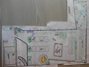 Concept design Llanidloes community food garden