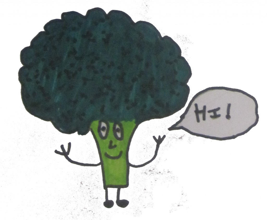Broccoli figure