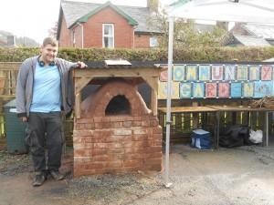 Rhys cob oven